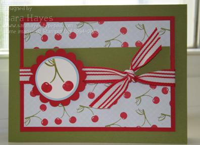 Cherry card watermark