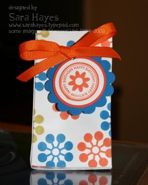 Wow flowers box watermark