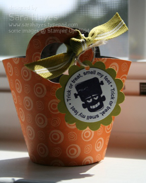 Halloween basket watermark