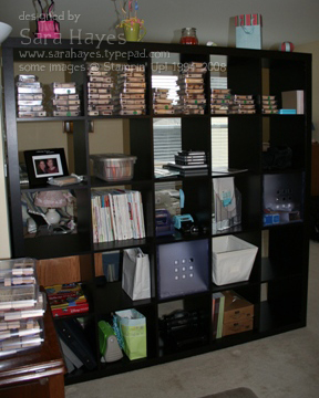 Bookshelf watermark