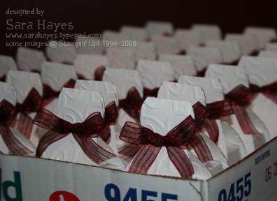 Bride favor boxes watermark