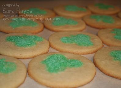Baked cookies watermark