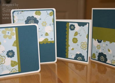 Blueberry notecards watermark
