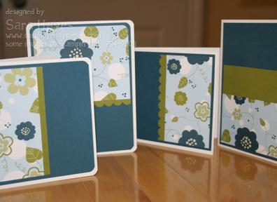 Blueberry notecards watermark