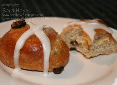 Hot cross buns watermark