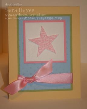 Baby star watermark