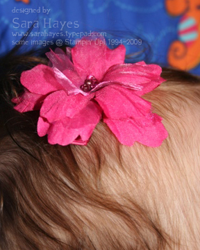 Flower clip close watermark