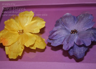 Flower clips watermark