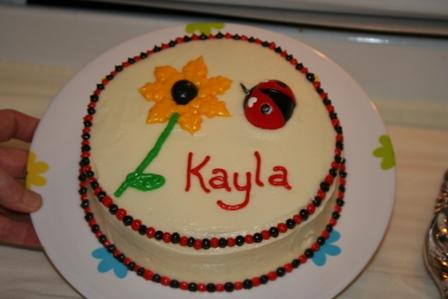 Kayla bday cake